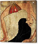dancer of Ancient Egypt Acrylic Print