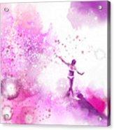 Dancer On Water 4 Acrylic Print
