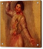Dancer With Castenets 1895 Acrylic Print