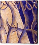 Dancers - Study 12 Acrylic Print