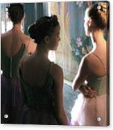 Dancers Acrylic Print