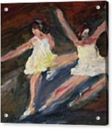 Dancers  One Acrylic Print