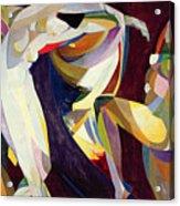 Dances Acrylic Print by Arthur Bowen Davies
