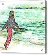 Dancin' With The Sunrise Acrylic Print