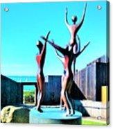 Dancing At Sea Ranch Acrylic Print