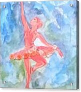 Dancing Ballerina Acrylic Print