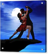 Dancing By Moonlight Acrylic Print