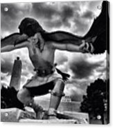 Dancing Eagle  Acrylic Print