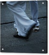 Dancing Feet At The Dominican Republic Son Party Number Three Acrylic Print
