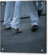 Dancing Feet At The Dominican Republic Son Party Number Two Acrylic Print