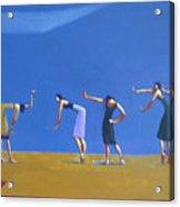 Dancing Figures Acrylic Print