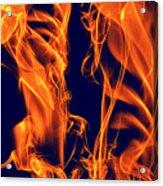 Dancing Fire I Acrylic Print