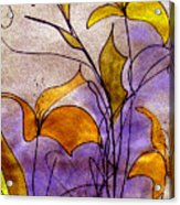 Dancing Flora Acrylic Print
