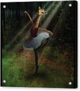 Dancing Giraffe Acrylic Print