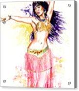 Dancing Girl Acrylic Print