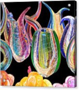 Dancing Glass Objects Acrylic Print