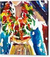 Dancing Hula Acrylic Print