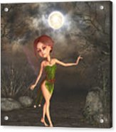 Dancing In The Moonlight Acrylic Print