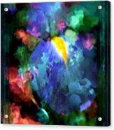 Dancing Iris Acrylic Print