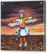 Dancing Kachina Acrylic Print