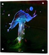 Dancing Mushroom Acrylic Print