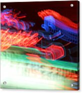 Dancing Neon Acrylic Print