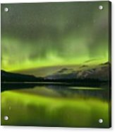 Dancing Northern Lights Acrylic Print