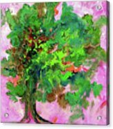 Dancing Oak Acrylic Print
