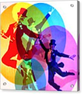 Dancing on Air Acrylic Print
