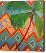 Dancing Palm Acrylic Print