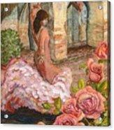 Dancing Rose Acrylic Print