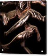 Dancing Shiva Acrylic Print