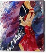 Dancing Tango Acrylic Print