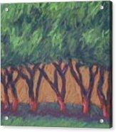 Dancing Trees Acrylic Print