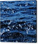 Dancing Water Acrylic Print