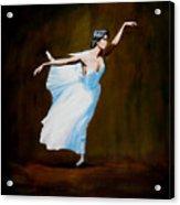 Dancing With Dasies  Acrylic Print