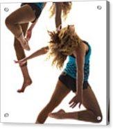 Dancing With Myself Acrylic Print