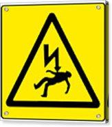 Danger Electricity Acrylic Print