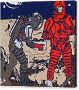 Danger In Deep Space Acrylic Print
