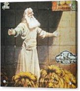 Daniel: Film, 1913 Acrylic Print