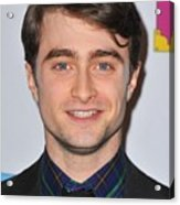 Daniel Radcliffe At Arrivals For Only Acrylic Print by Everett