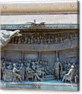 Daniel Webster In The Webster - Hayne Debate Acrylic Print