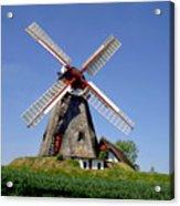 Danish Windmill Acrylic Print