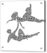 Danse Acrylic Print