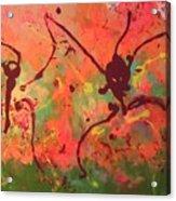 Dansing Ant's Acrylic Print