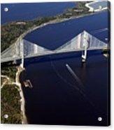 Dantes Bridge Acrylic Print