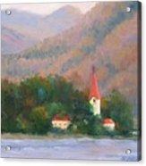 Danube Autumn Acrylic Print