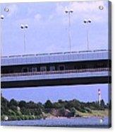 Danube River Bridges Acrylic Print