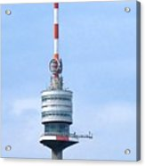 Danube Tower Vienna Acrylic Print