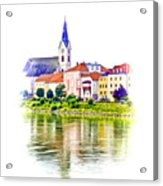Danube Village Acrylic Print